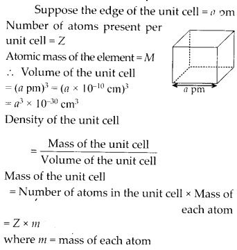 NCERT Solutions for Class 12 Chemistry Chapter 1 The Solid State 4