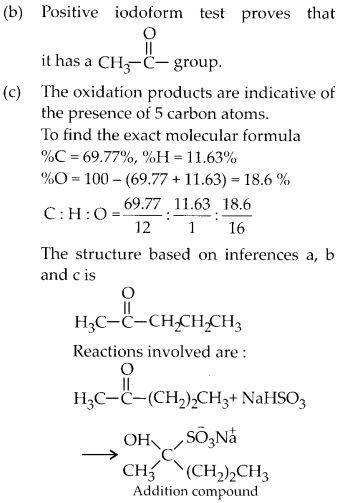 NCERT Solutions for Class 12 Chemistry Chapter 12 Aldehydes, Ketones and Carboxylic Acids 61