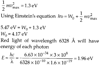 NCERT Solutions for Class 12 Physics Chapter 11 Dual Nature of Radiation and Matter 44