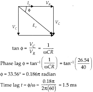 NCERT Solutions for Class 12 Physics Chapter 7 Alternating Current 32