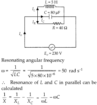 NCERT Solutions for Class 12 Physics Chapter 7 Alternating Current 36
