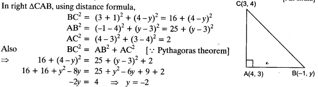 Coordinate Geometry Class 10 Maths CBSE Important Questions With Solutions 25