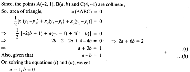 Coordinate Geometry Class 10 Maths CBSE Important Questions With Solutions 42