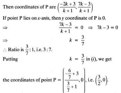 Coordinate Geometry Class 10 Maths CBSE Important Questions With Solutions 49