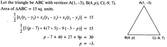 Coordinate Geometry Class 10 Maths CBSE Important Questions With Solutions 93