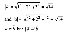 NCERT Solutions for Class 12 Maths Chapter 10 Vector Algebra Ex 10.2 Q2.1