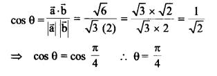 NCERT Solutions for Class 12 Maths Chapter 10 Vector Algebra Ex 10.3 Q1.1
