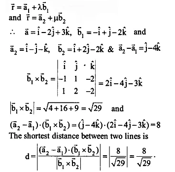 NCERT Solutions for Class 12 Maths Chapter 11 Three Dimensional Geometry Ex 11.2 Q17.1