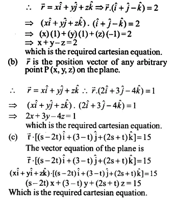 NCERT Solutions for Class 12 Maths Chapter 11 Three Dimensional Geometry Ex 11.3 Q3.1