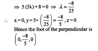 NCERT Solutions for Class 12 Maths Chapter 11 Three Dimensional Geometry Ex 11.3 Q4.3