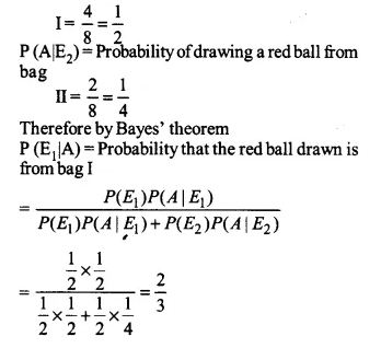 NCERT Solutions for Class 12 Maths Chapter 13 Probability Ex 13.3 Q2.1