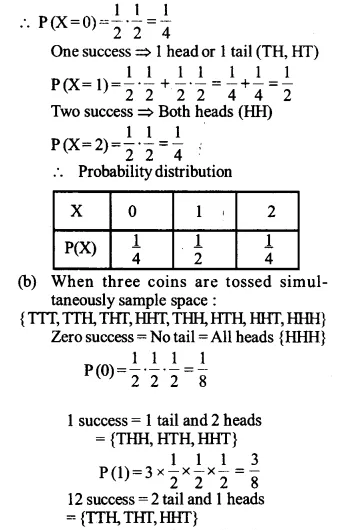NCERT Solutions for Class 12 Maths Chapter 13 Probability Ex 13.4 Q4.1