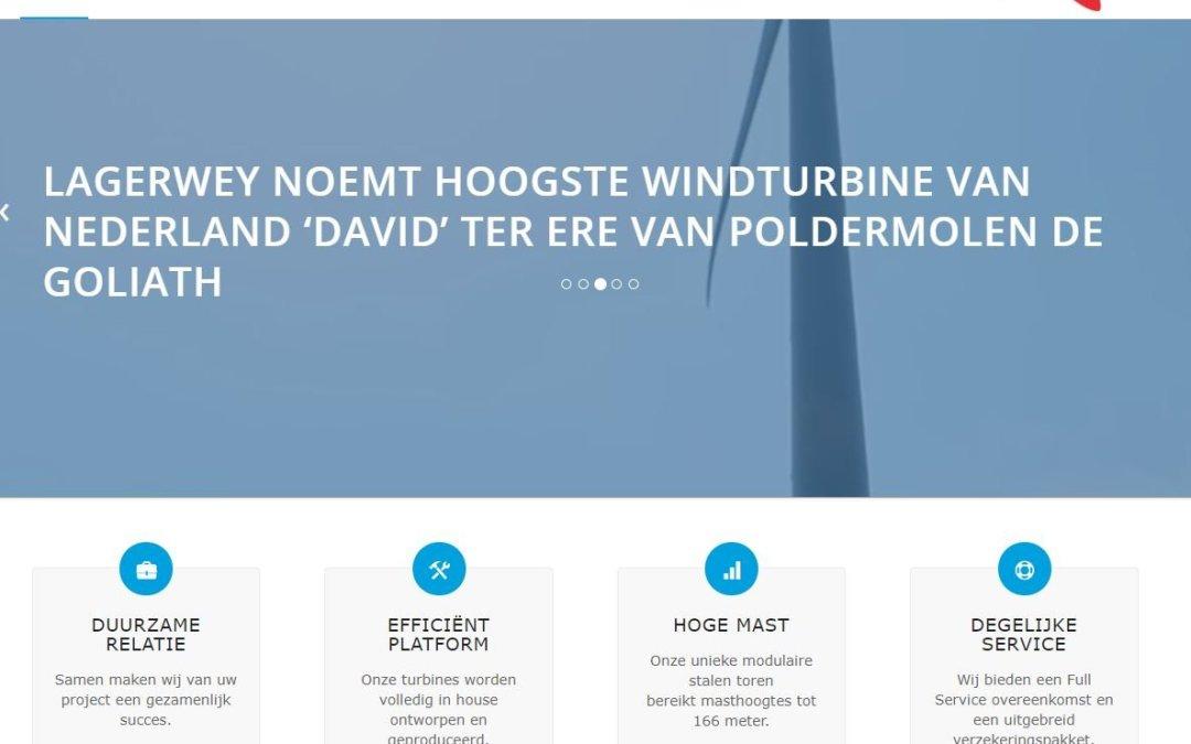Lagerwey windturbines