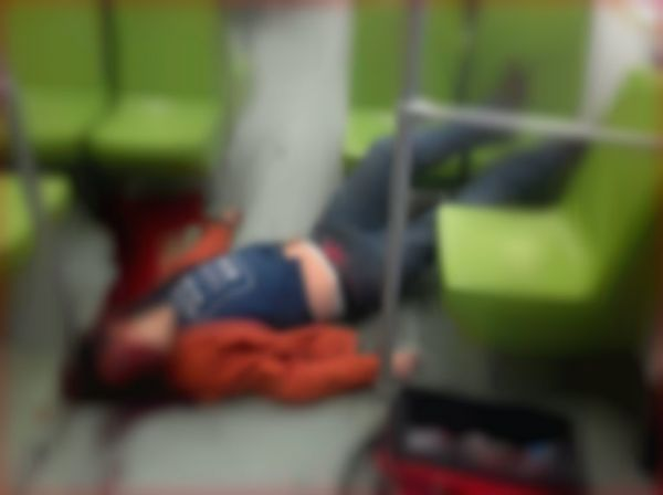 Joven muere al asomarse por ventana del metro