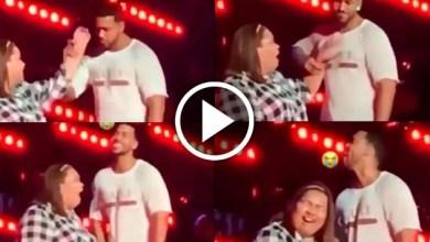 Video: Romeo Santos hace que fan toque sus partesíntimasen pleno concierto