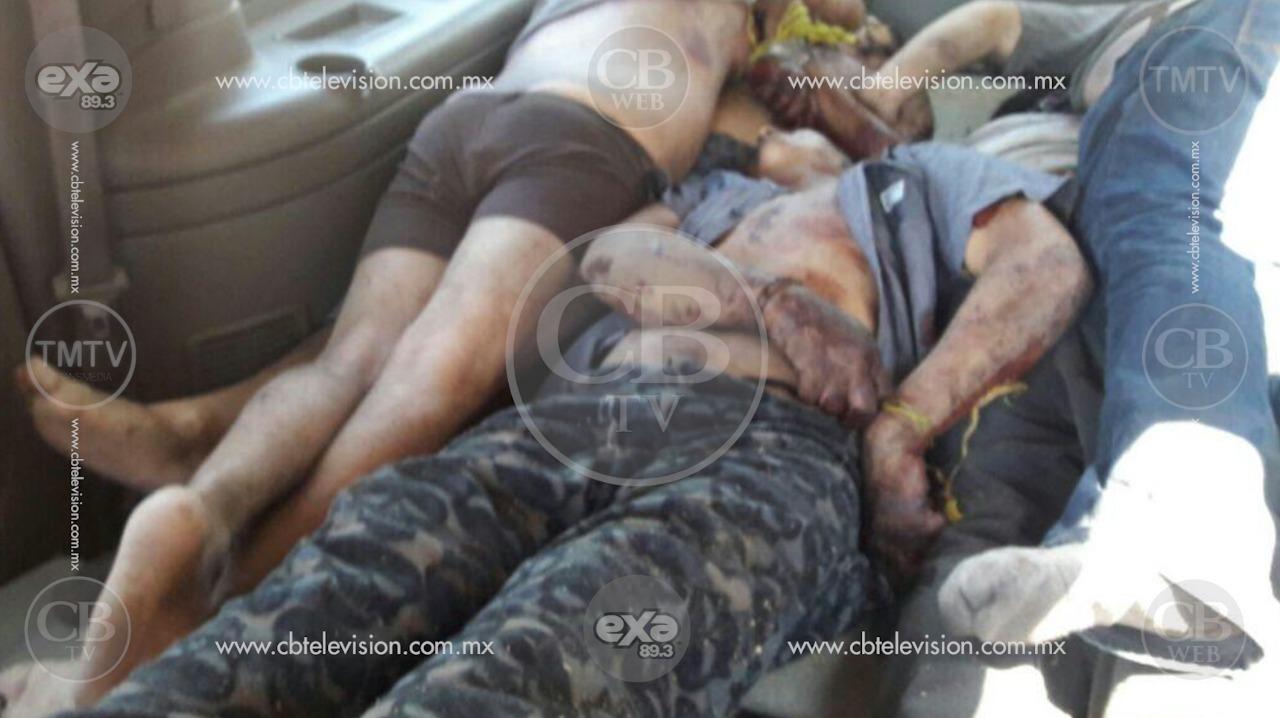 Encuentran cinco cadáveres dentro de una camioneta en Jiquilpan, Michoacán