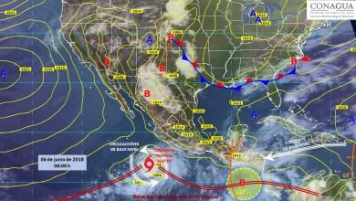 Clima: Se esperan posibles lluvias para estos estados del país