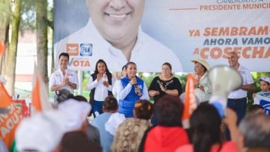 Michoacanos respaldan proyecto de Alma Mireya para llegar al Senado