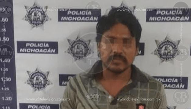 Prófugo de la justicia es capturado en Zitácuaro por la Policía Michoacán