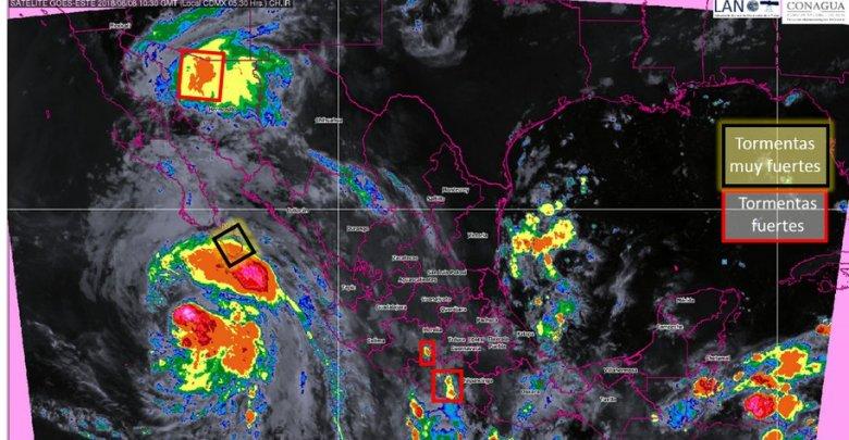 Clima: Tormentas y viento para gran parte del país