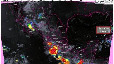 Clima: Habrá tormenta fuertes para Michoacán