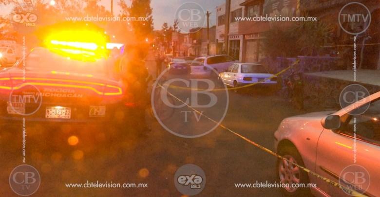 Otro muerto más en Uruapan, le meten siete balazos