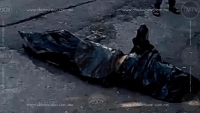 El cuerpo de una persona fue localizado en las inmediaciones de la avenida