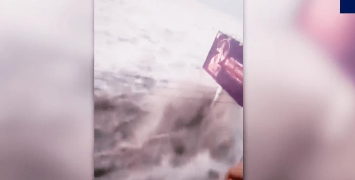 VIDEOS:Tsunami golpea ciudad de Indonesia tras terremoto de 7.5