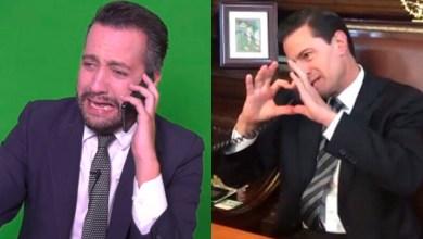 Participa Peña Nieto en sketch de 'Chumel' Torres