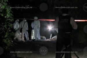 Localizan a hombre maniatado y asesinado en Morelia
