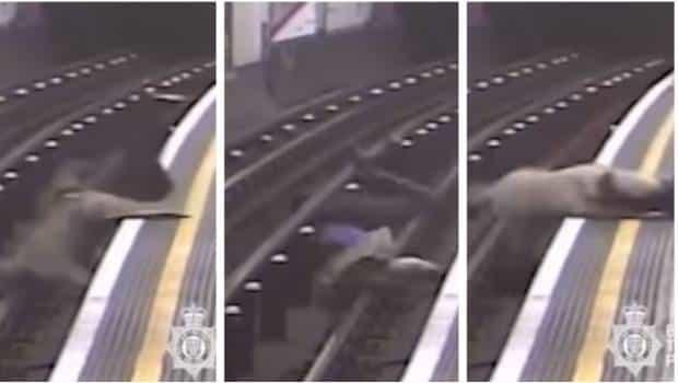 """Por no haber """"dormido bien"""" arroja a hombre de 91 años a las vías"""