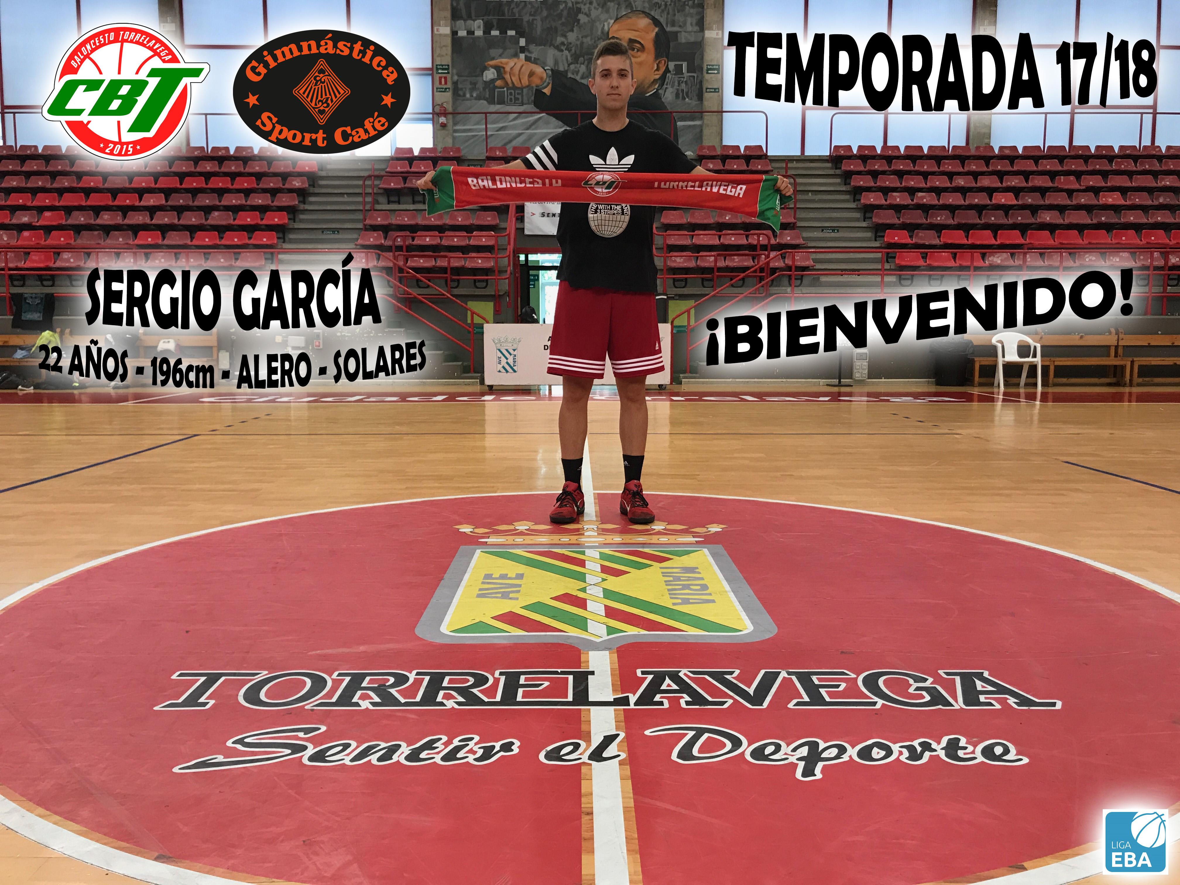 #LigaEBA – El versátil Sergio García rumbo al CBT Gimnástica Sport-Café