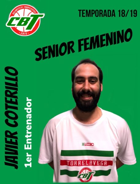 Javier Coterillo nuevo entrenador del sénior femenino