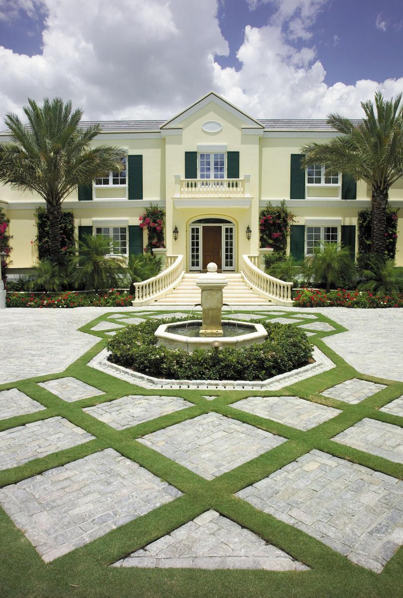 living driveway