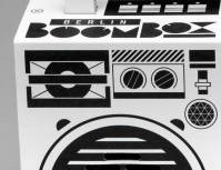 details of the berlin boombox