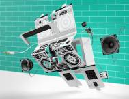 the exploded view of the berlin boombox