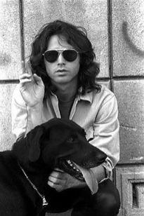 jim morrison and his dog