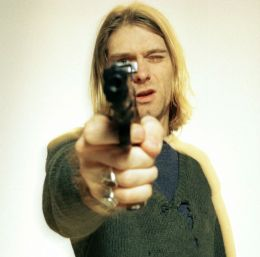photoshoot of kurt cobain in paris