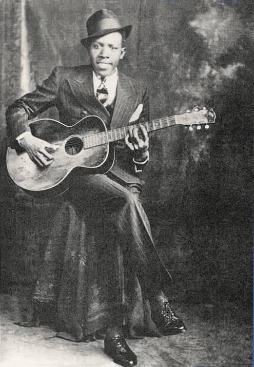 robert johson and his guitar