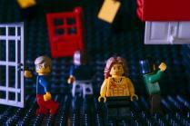 the doors built on lego
