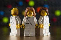 bee gees built on lego