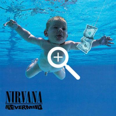 nirvana, nevermind, cover album