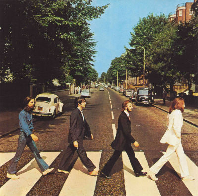 the beatles, abbey road, album cover