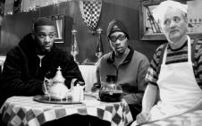 rza, gza, bill murray in Coffee and Cigarettes
