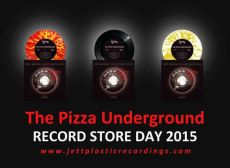 pizza underground, vinyl records