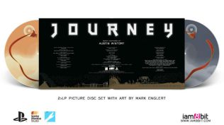 album cover of journey, collector's edition on vinyl