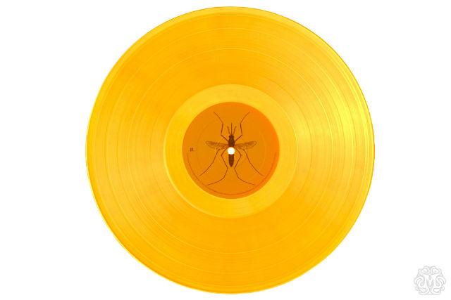 amber vinyl, jurassic park ost, designed by Dan McCarthy