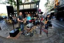 band playing for la fête de la musique