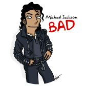 simpsonized by adn, Michael, Jackson
