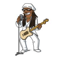 simpsonized by adn, nile rodgers